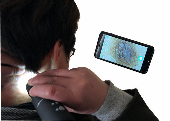 WIFI Connection Microscope Portable Wireless Digital Video Otoscope Skin And Hair Magnifier