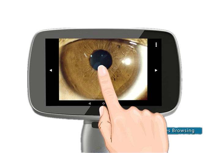 High Resolution Handheld Slit Lamp Otoscope Ophthalmoscope With 3 Storage Modes