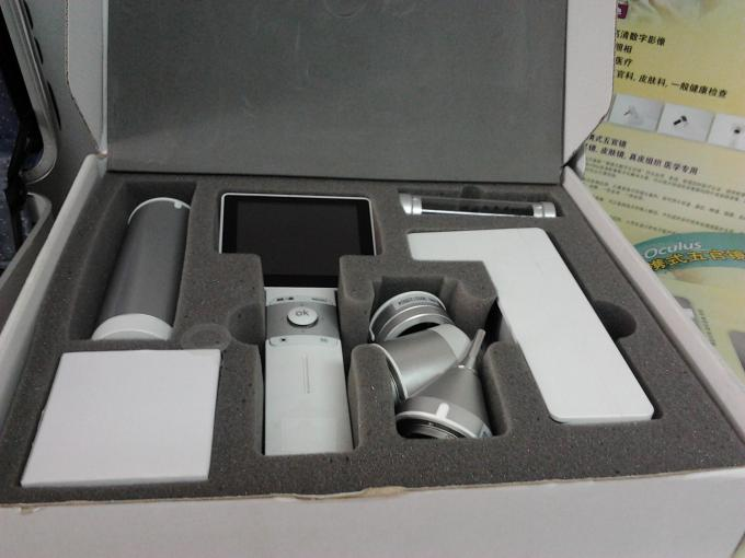 CE Approved Medical Digital Video Otoscope Dermatocope Laryngoscope Ophthalmoscope