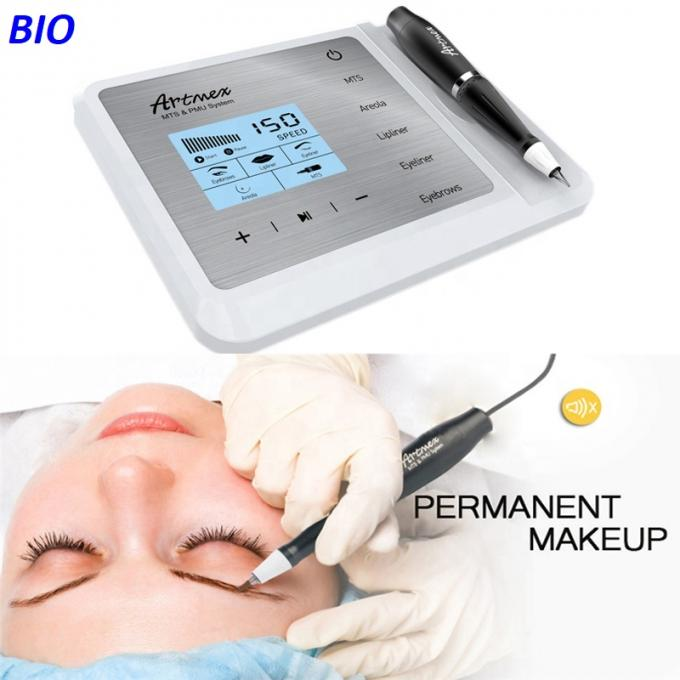 Adjustable 11 Speed Permanent Makeup Machine , Permanent Makeup Tattoo Machine