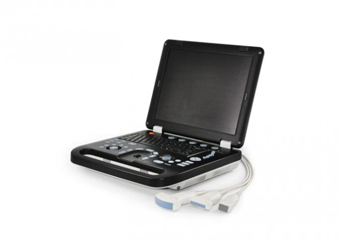15 inch Full Digital Color Doppler Machine Portable Doppler Imaging Ultrasound With 2 USB Port