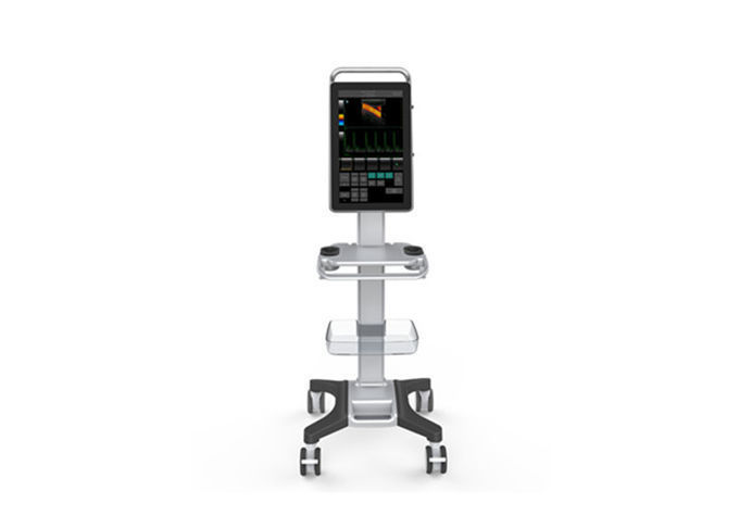 18.5 Inch Full Touch Screen Trolley Color Doppler Machine With High Resolution