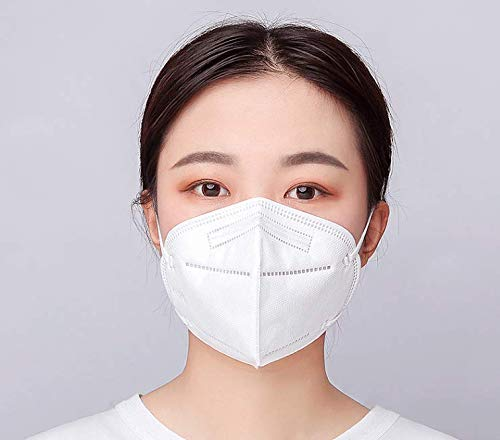 Mouth & Nose Covering 5 Pack Disposable Foldable Face Mask