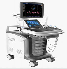 Intelligent 3D / 4D Tolley Color Doppler Tolley Ultrasonic Diagnostic Imaging System Double Screens