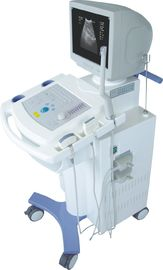 Economical Digital Trolley Ultrasound Scanner Cart B / W Ultrasound Scanner With 2 Probe Connectors  14 Inch CRT Monitor