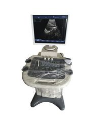 17 Inch Lcd Screen Trolley Ultrasound Scanner With 3.5mhz R60 Convex Probe