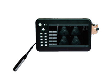Animal Ultrasound 7 Inch Handheld Black and White Ultrasound Device with Li-ion Battery Only 0.7kg Veterinary Use