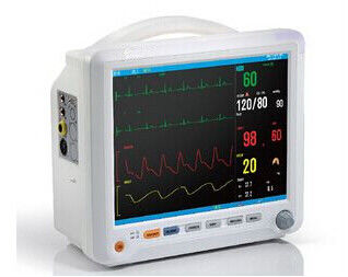 12 Inch Color TFT LCD Display Auto Double Alarm Multi - Parameter Patient Monitor With 6 Standard parameters