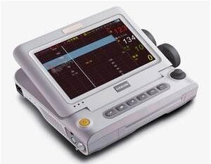 "China 10.2"" Folding 90 Degree Multi Parameter Patient Monitor Medical Use factory"