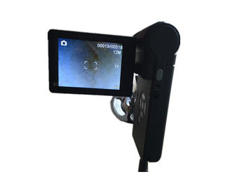 High Resolution Digital Skin Camera Hair Magnifier Machine 8 LEDs With Brightness Adjustable