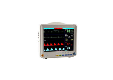 China Patient Monitoring Systems Multi Parameter Patient Monitor With 12 Inch TFT Screen factory