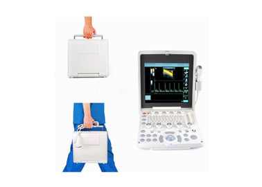 China Portable Color Doppler Ultrasound Scanner With 12.1 Inch Screen 2.5-10 MHz Multi-Frequency Probe factory