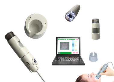 China Skin Hair Testing Machine Facial Analyzer Scanner For Home And Beauty Salon factory
