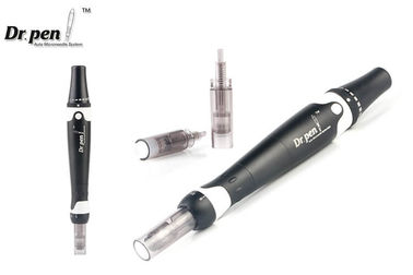 China Black Metal Shell Auto - Stamp Micro Derma Pen With Medical Cartridge factory