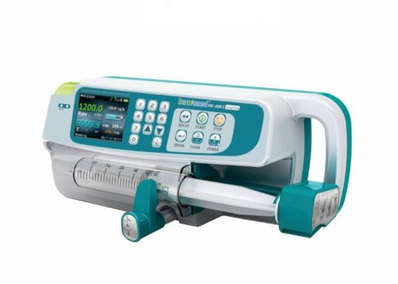 Colorful LCD Display Medical Infusion Pump Syringe Pump Suitable for Various Syringes of 5ml 10ml 20ml 30ml 50ml 60ml