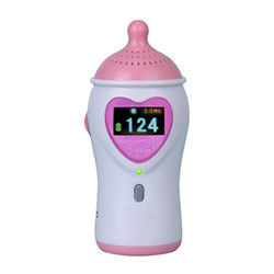 China 9V Alkaline Battery Fetal Heart Rate Doppler With Color LCD Display Earphone And Speaker factory